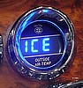 Digital Outside Air Temperature Gauge, BLUE, ea