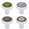 Deluxe Air Valve Knob with US Military Medallion