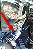 Peterbilt 379 Lower Steering Column Trim, '98-'05