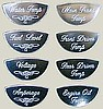 Peterbilt Gauge Emblems, Master Pack B, set