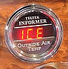 Digital Outside Air Temperature Gauge, ea